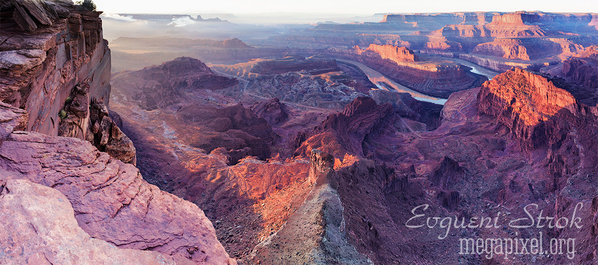 Dead Horse Point State Park , Utah USA