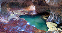 Subway at Autumn, Zion National Park, Utah